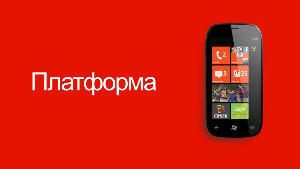 Windows Phone Платформа