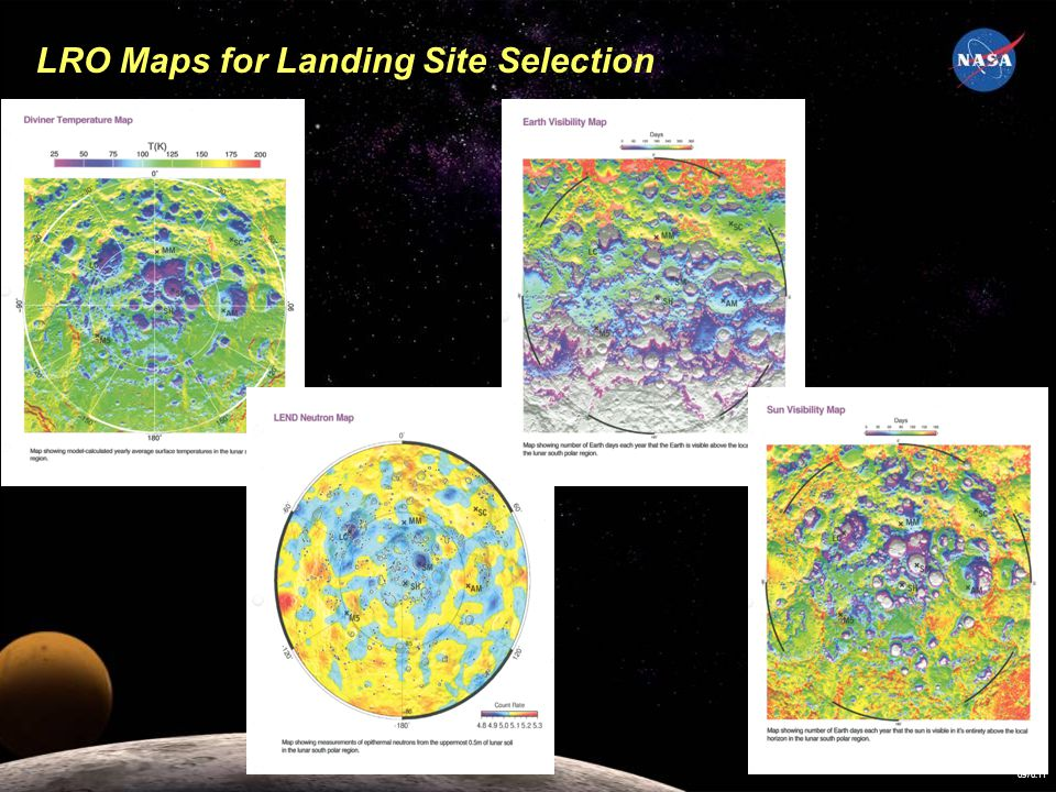 LRO Maps for Landing Site Selection 6976.11
