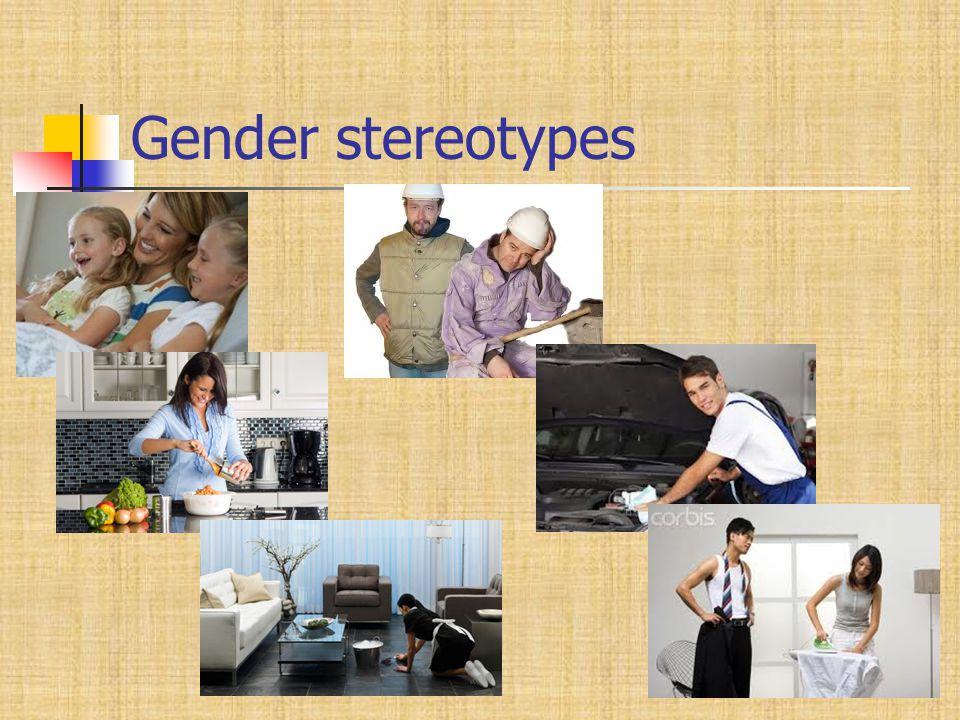 Gender stereotypes 7