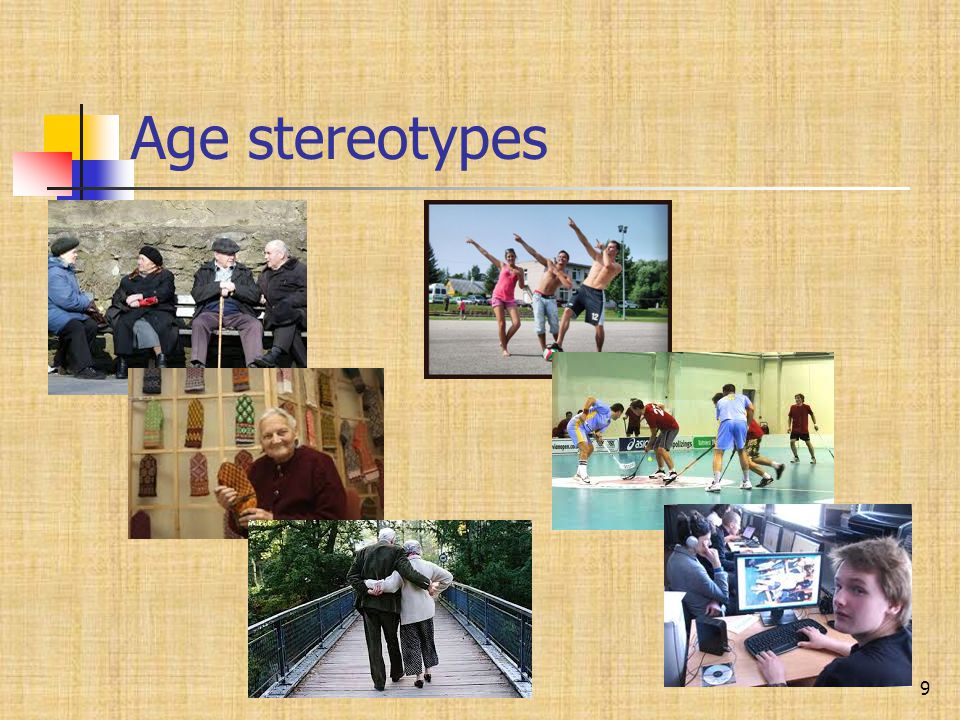 Age stereotypes 9