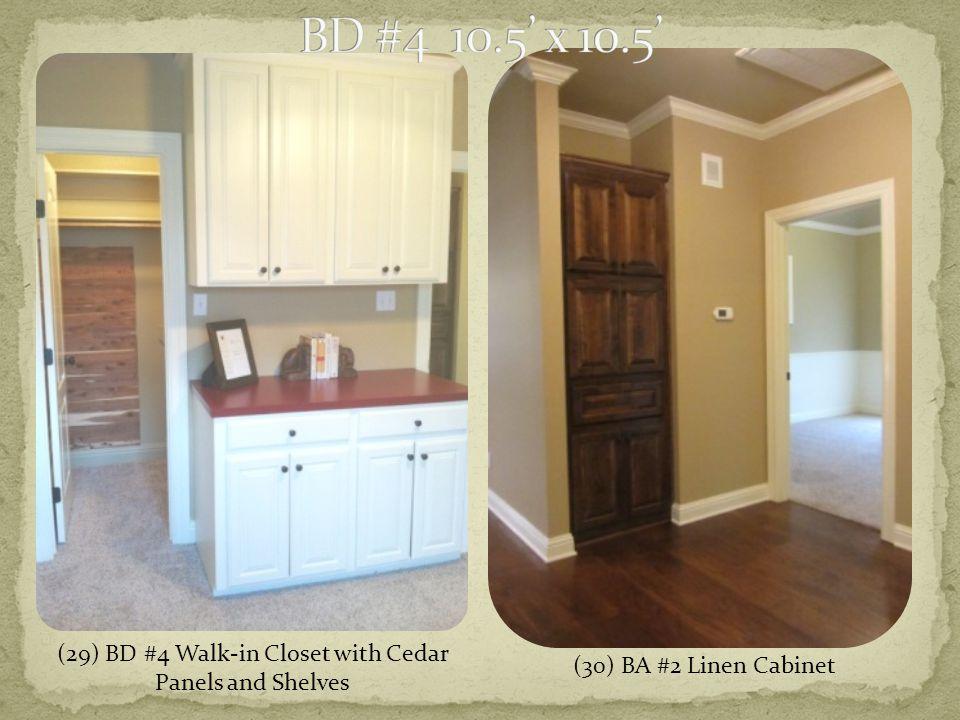(30) BA #2 Linen Cabinet