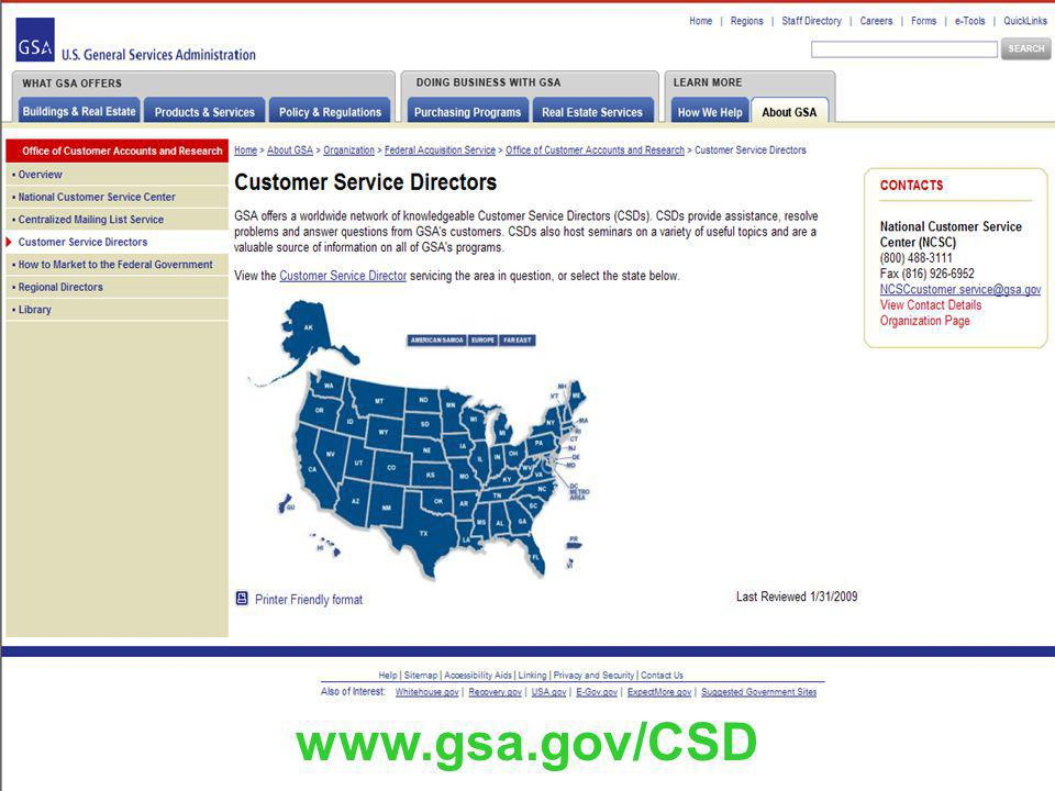 11 GSAs Federal Acquisition Service: Helping You Met Your Sustainability Requirements