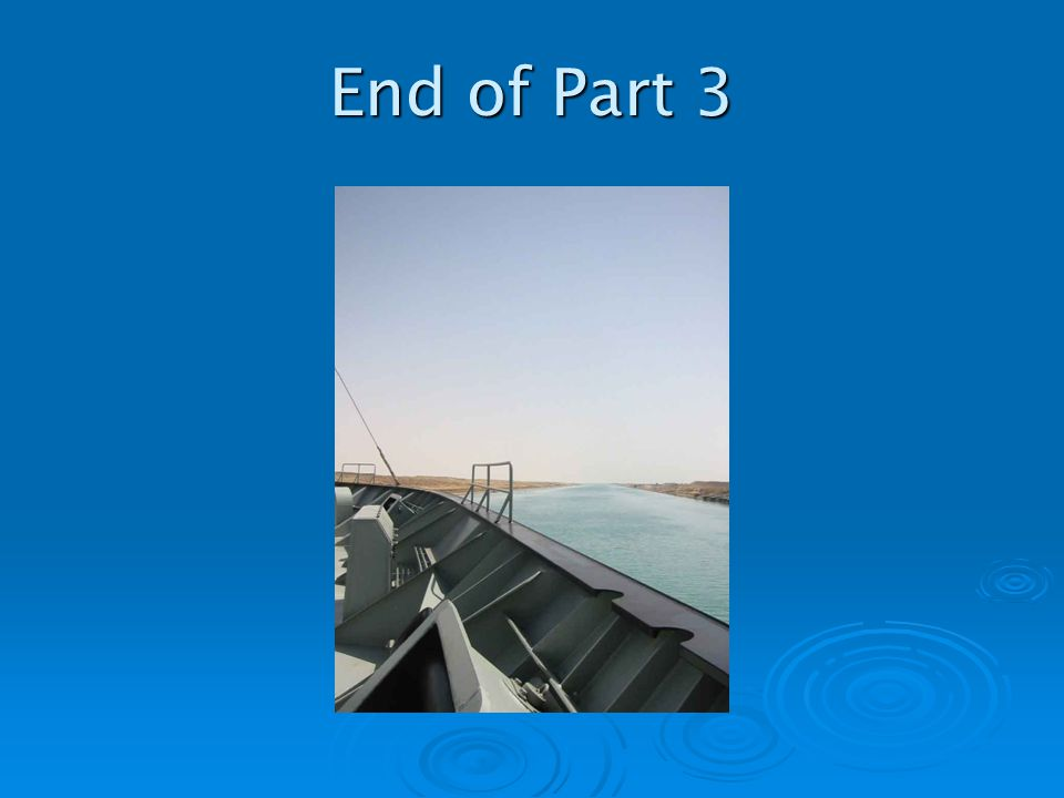 End of Part 3