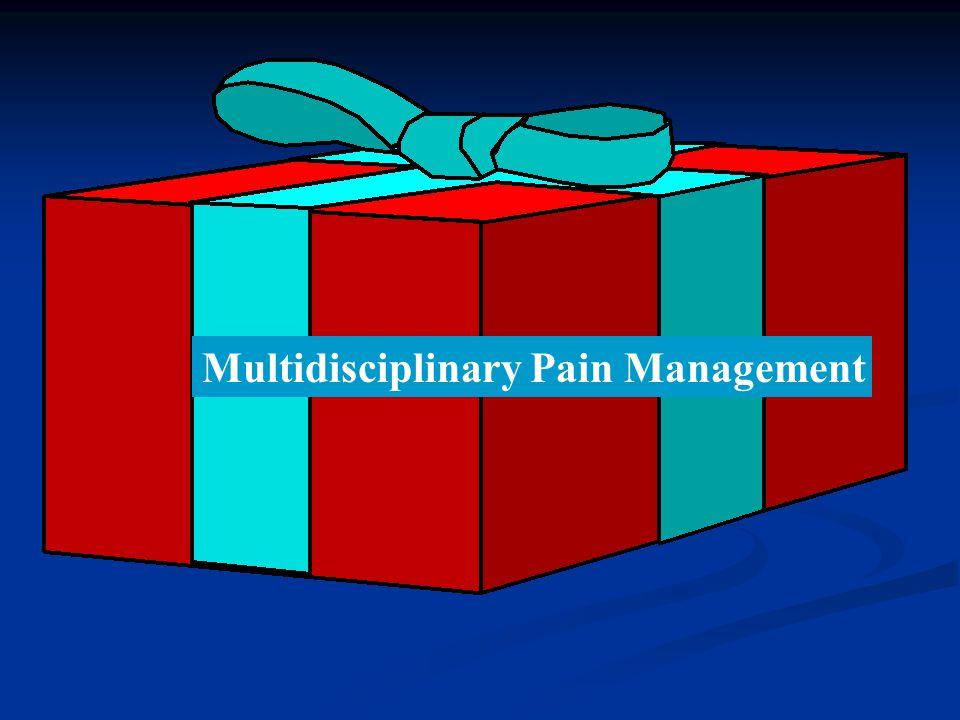Multidisciplinary Pain Management