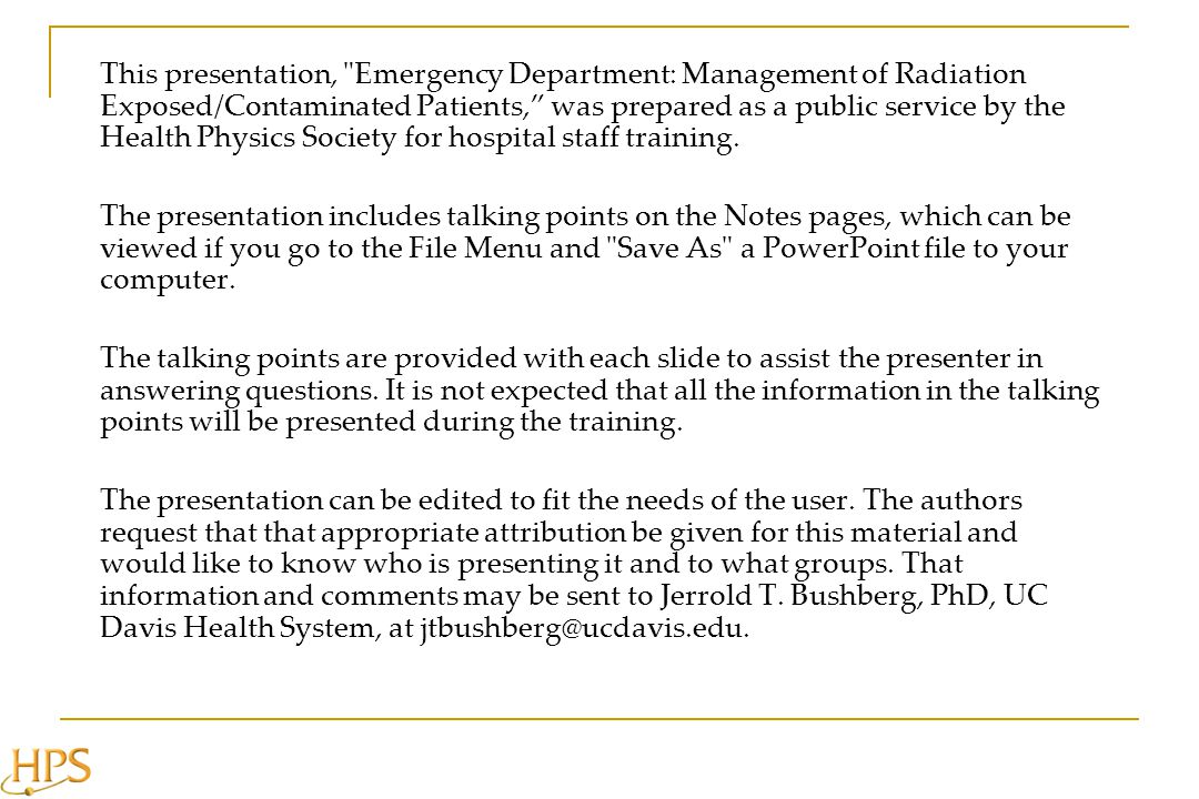 Estimating the severity of radiation injury is difficult.
