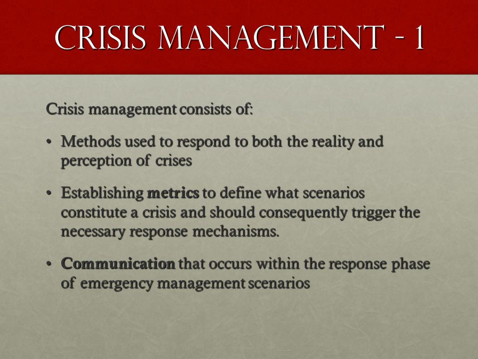 TOYOTA Basic Rules Violated For senior mgmt: crises must become their #1 priority immediately.For senior mgmt: crises must become their #1 priority immediately.