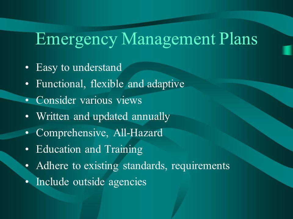 References http://www.cms.hhs.gov/ESRDNetworkOrganizations/Downloads/EmergencyPr eparednessforFacilities2.pdf http://www.bt.cdc.gov/disasters/hurricanes/katrina/watersystems.asp http://www.bt.cdc.gov/disasters/hurricanes/katrina/reopen_healthfacilities.asp http://www.bt.cdc.gov/disasters/watersystemrepair.asp http://www.nyhealth.gov/nysdoh/water/main.htm http://www.fda.gov/cdrh/emergency/dialysis.html#1