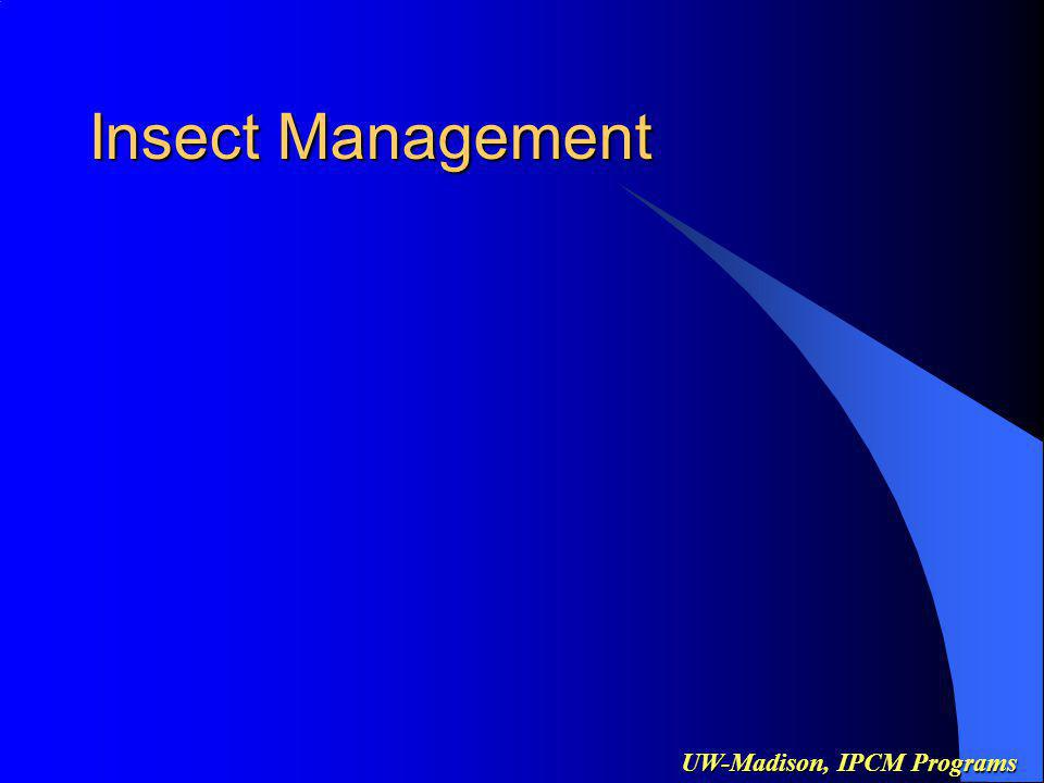 UW-Madison, IPCM Programs Insect Management