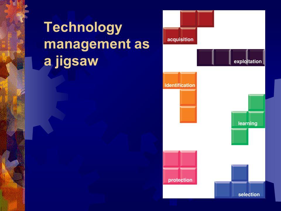 Technology management as a jigsaw