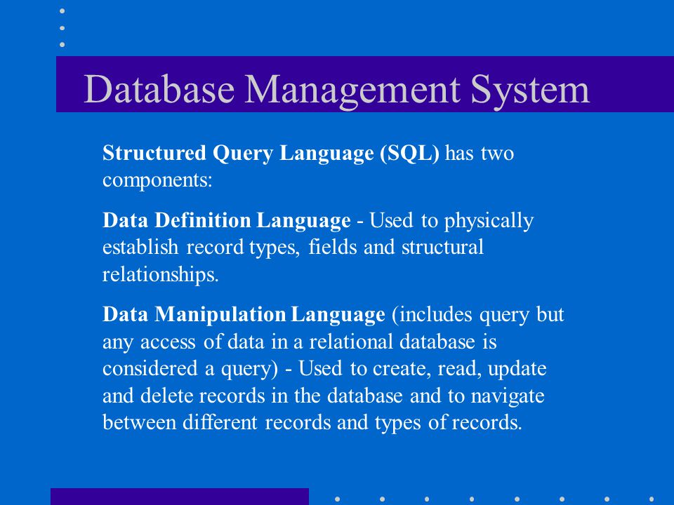 Database Management System Operating System Database Management System Application Programs Operating System Database Management System Application Pr