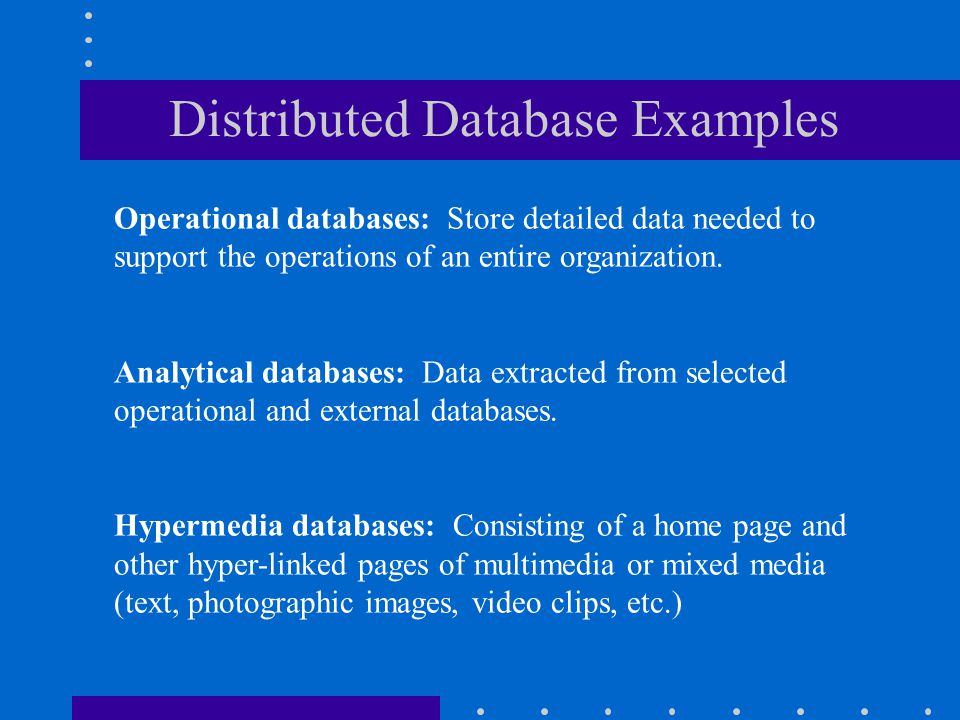 Definitions A database is a collection of logically related records or files. It consolidates many records previously stored in separate files so that