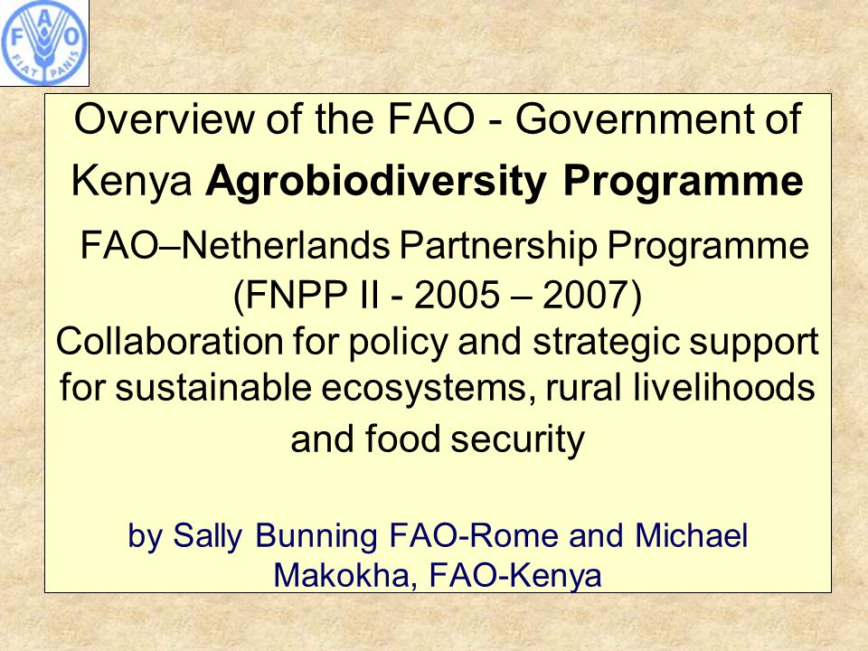 Example of a training module and FFS study Pollination is an important ecosystem function that affects crop production An ecosystem service critical in agriculture Determines plant diversity and food supply 60% of food plants insect pollinated Role in sustaining natural plant populations Direct influence on fruit set, seed set, fruit quality and quantity Work being conducted with Jomo kenyatta University (Grace Njoroge et al) developing training modules + FFS study