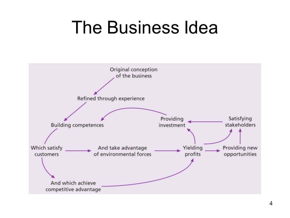 4 The Business Idea