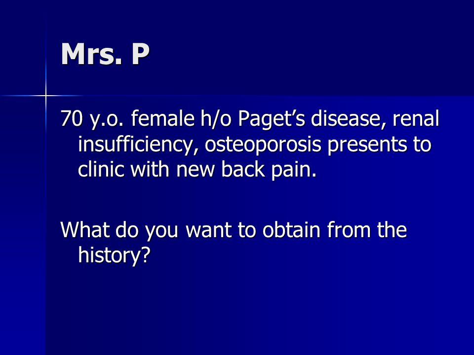 Mrs.P 70 y.o.
