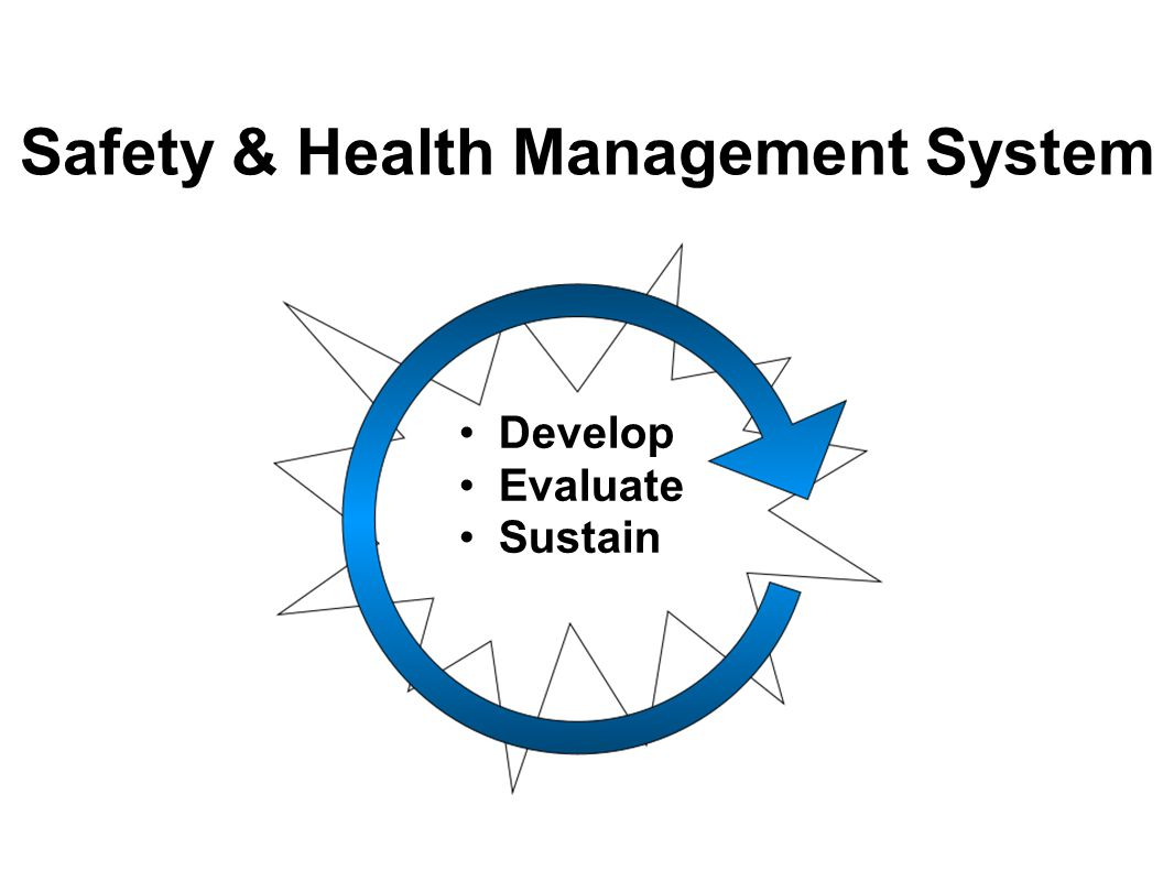 Safety & Health Management System Develop Evaluate Sustain