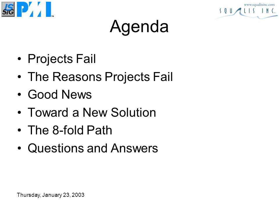 Thursday, January 23, 2003 Resource Buffer Buffer Non Chain Task Critical Chain Task