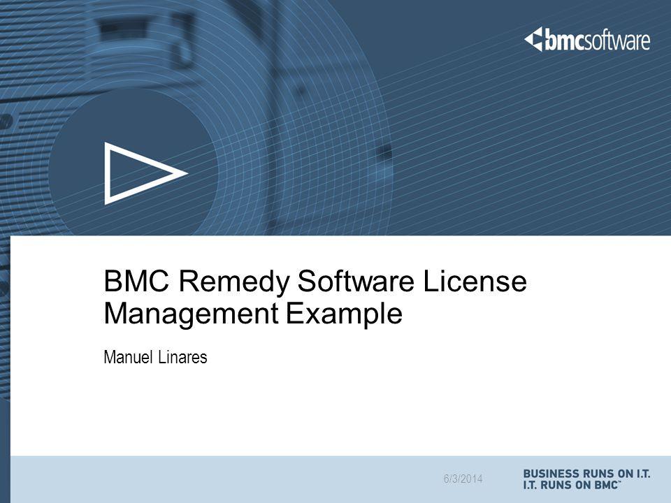 © Copyright 6/3/2014 BMC Software, Inc 12 © Copyright 6/3/2014 BMC Software, Inc.
