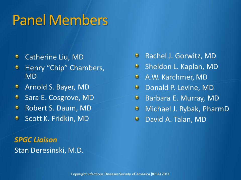 Echocardiogram 2 cm mitral valve vegetation Copyright Infectious Diseases Society of America (IDSA) 2011