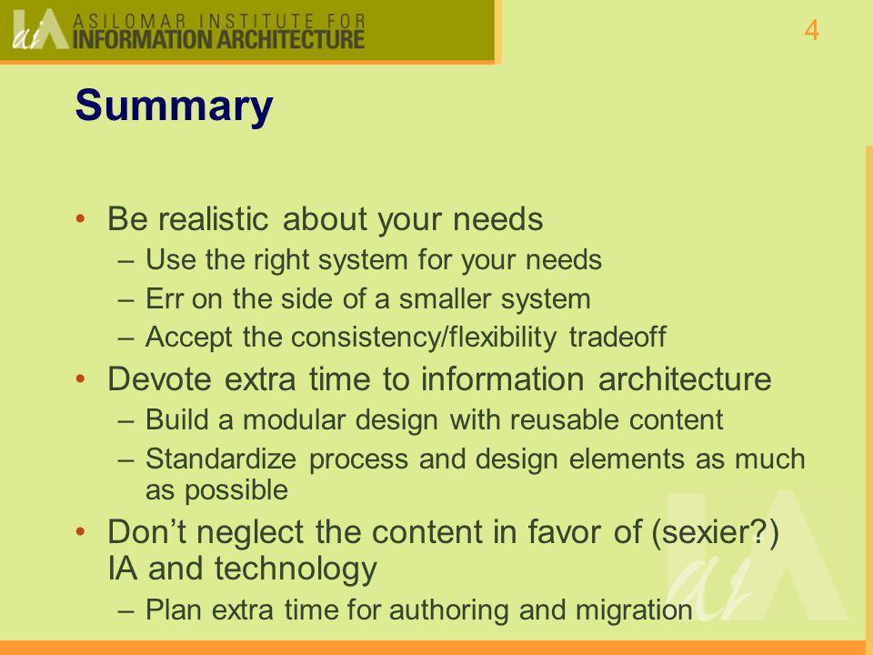 5 Part I: What is Content Management.