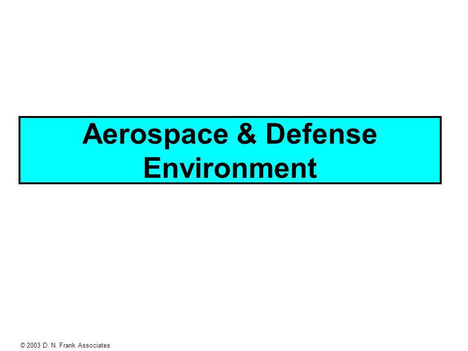 © 2003 D. N. Frank Associates Aerospace & Defense Environment