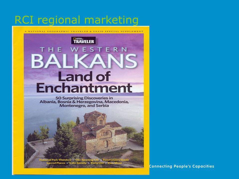 RCI regional marketing