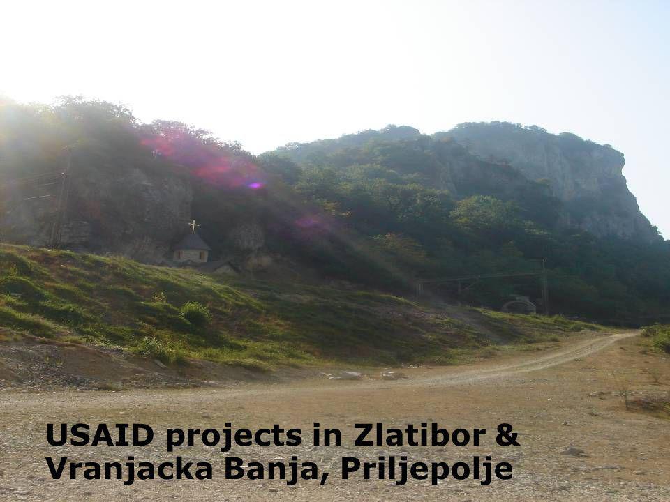 USAID projects in Zlatibor & Vranjacka Banja, Priljepolje
