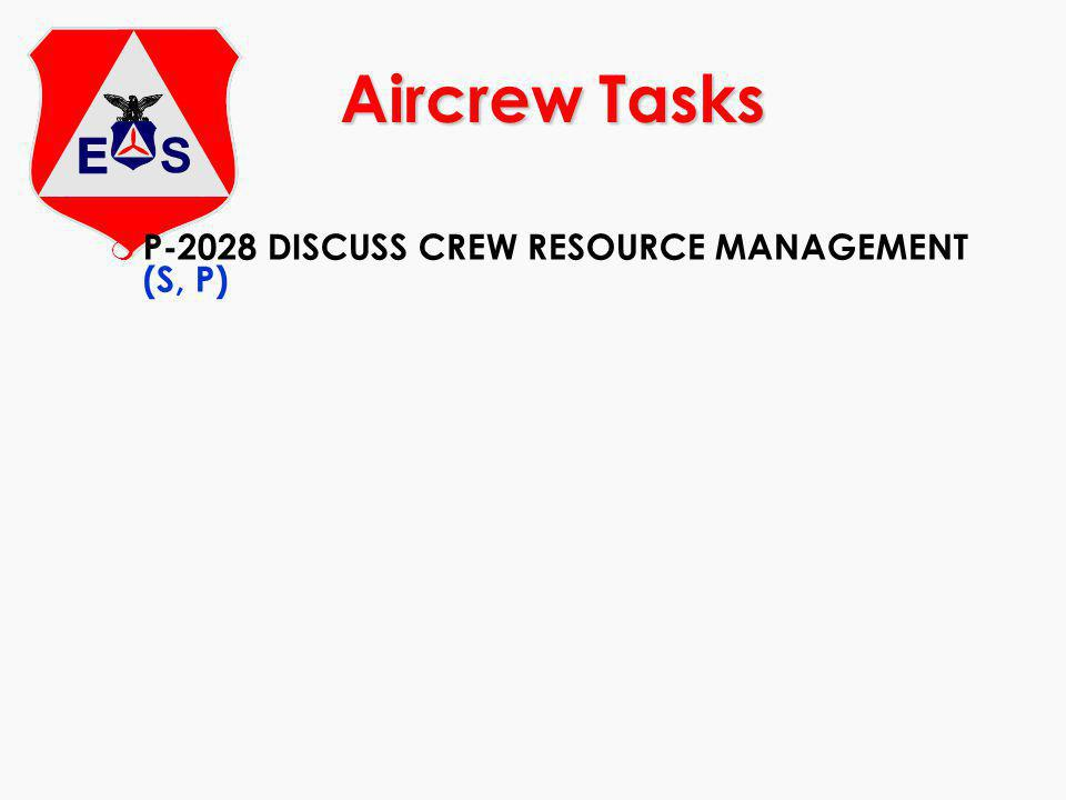 m Discuss the fundamentals of Crew Resource Management (CRM) m Discuss failures and error chain.