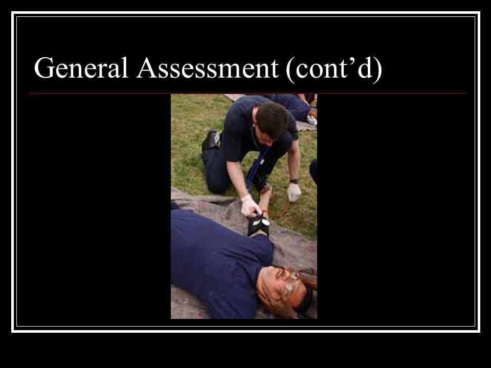 General Assessment (contd)