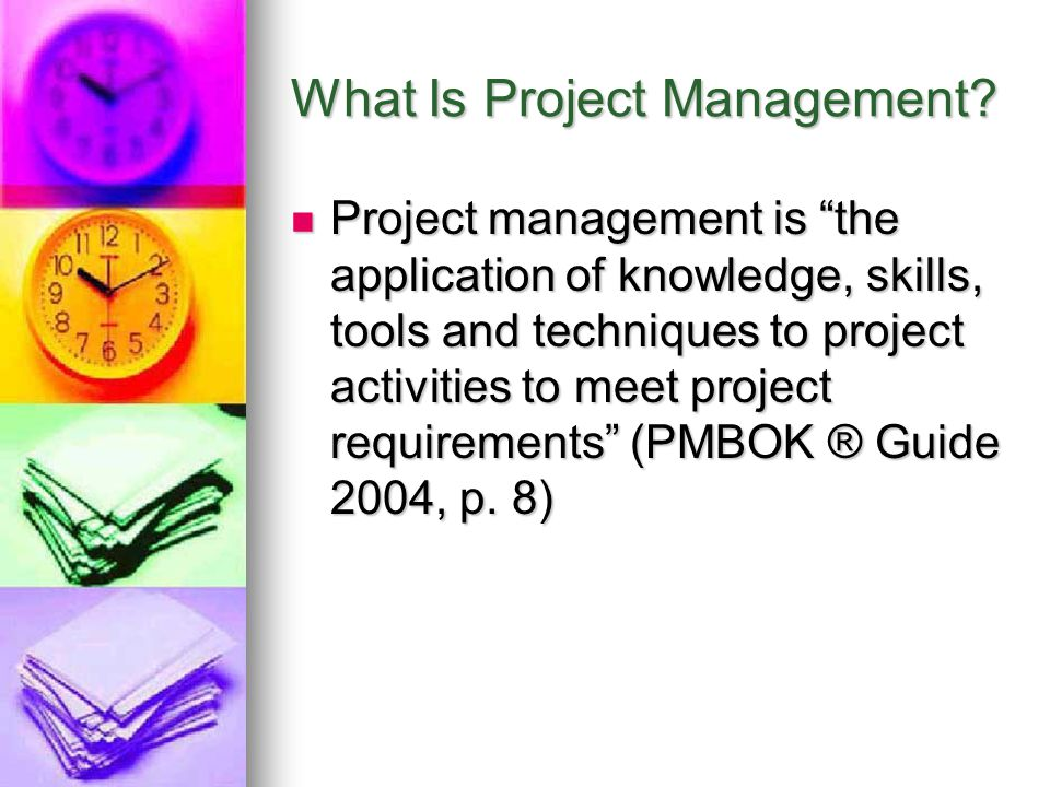 Project Management Framework* *This figure and others are from my book, Information Technology Project Management, Fourth Edition