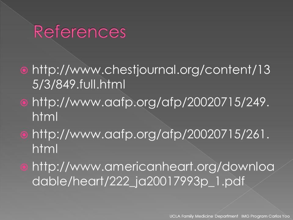 http://www.chestjournal.org/content/13 5/3/849.full.html http://www.aafp.org/afp/20020715/249.