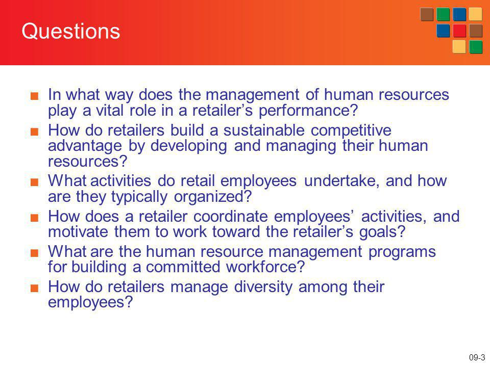 09-14 Tasks Performed in a Retail Firm