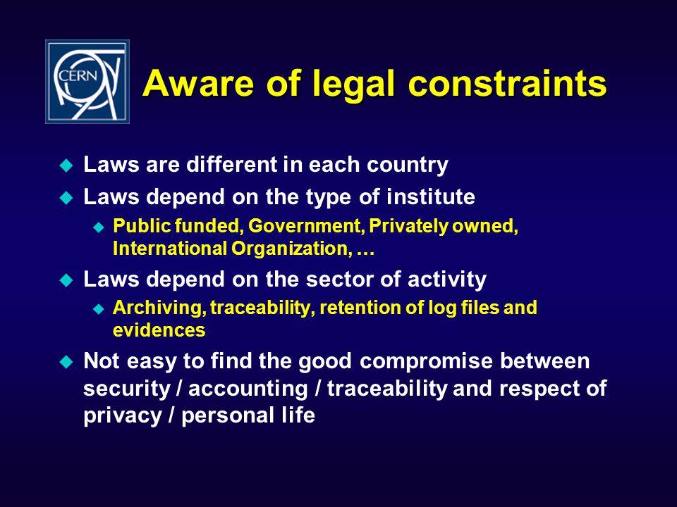 IAM Architecture The AAA Rule.