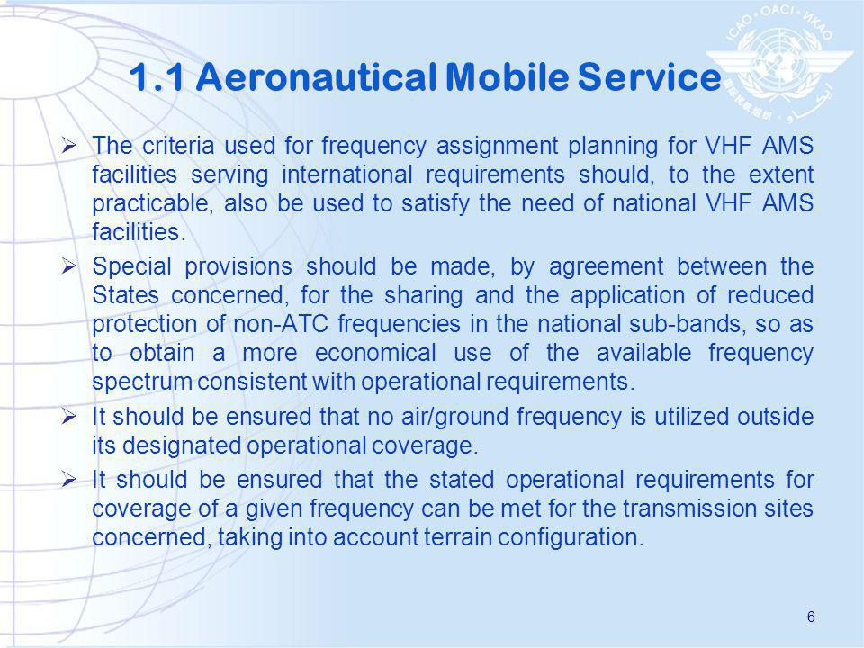 1.2 Radio Navigation Aids Frequencies should be assigned to all radio navigation facilities taking into account: a)agreed geographical separation criteria based on assignments of 50 kHz-spaced frequencies to ILS localizer and VOR, X and Y channels to DME and 25 KHz space frequencies to GBAS; b)the need for maximum economy in frequency demands and in radio spectrum utilization; and c)a deployment of frequencies which ensures that international services are planned to be free of interference from other services using the same band.