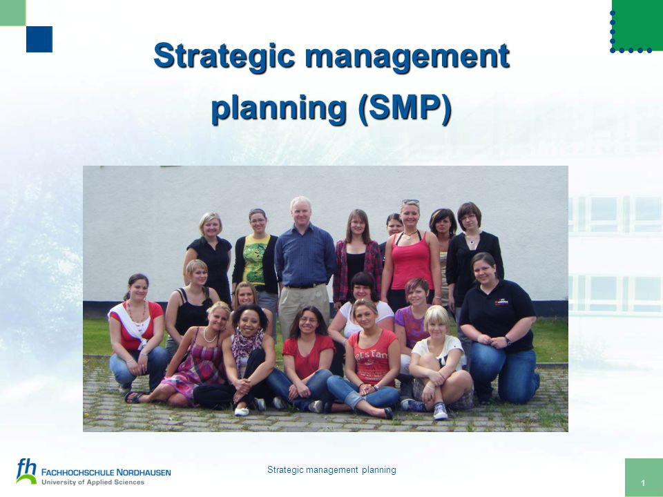 2 Strategic management planning Thinking outside of the box
