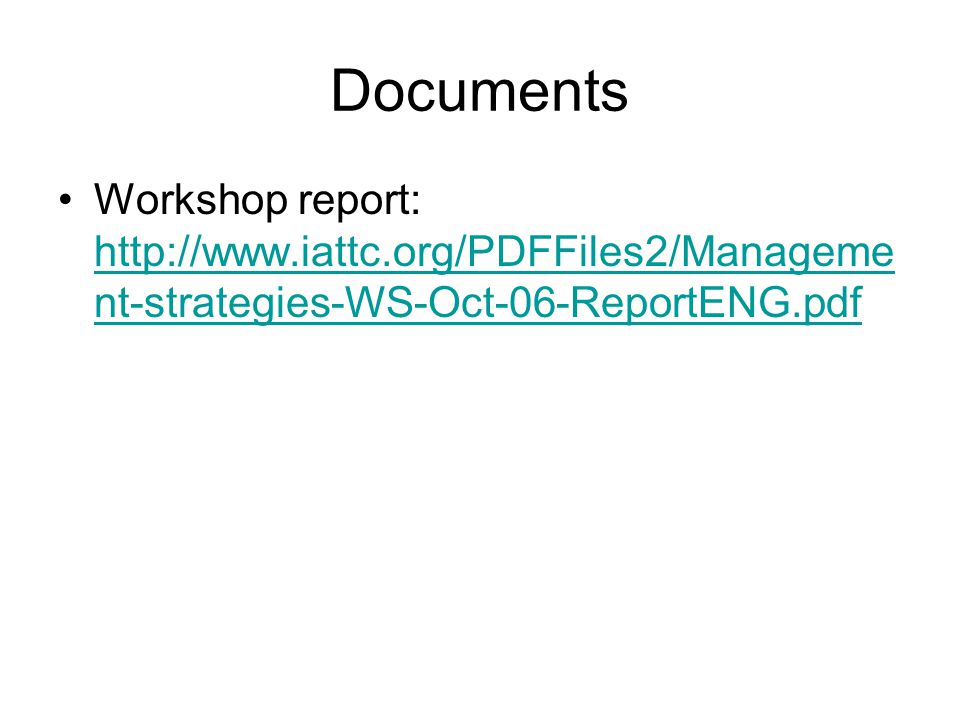 Documents Workshop report:   nt-strategies-WS-Oct-06-ReportENG.pdf   nt-strategies-WS-Oct-06-ReportENG.pdf