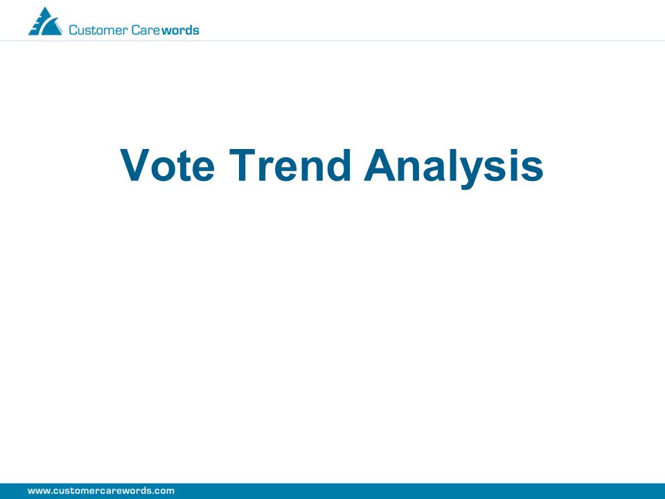 Vote Trend Analysis