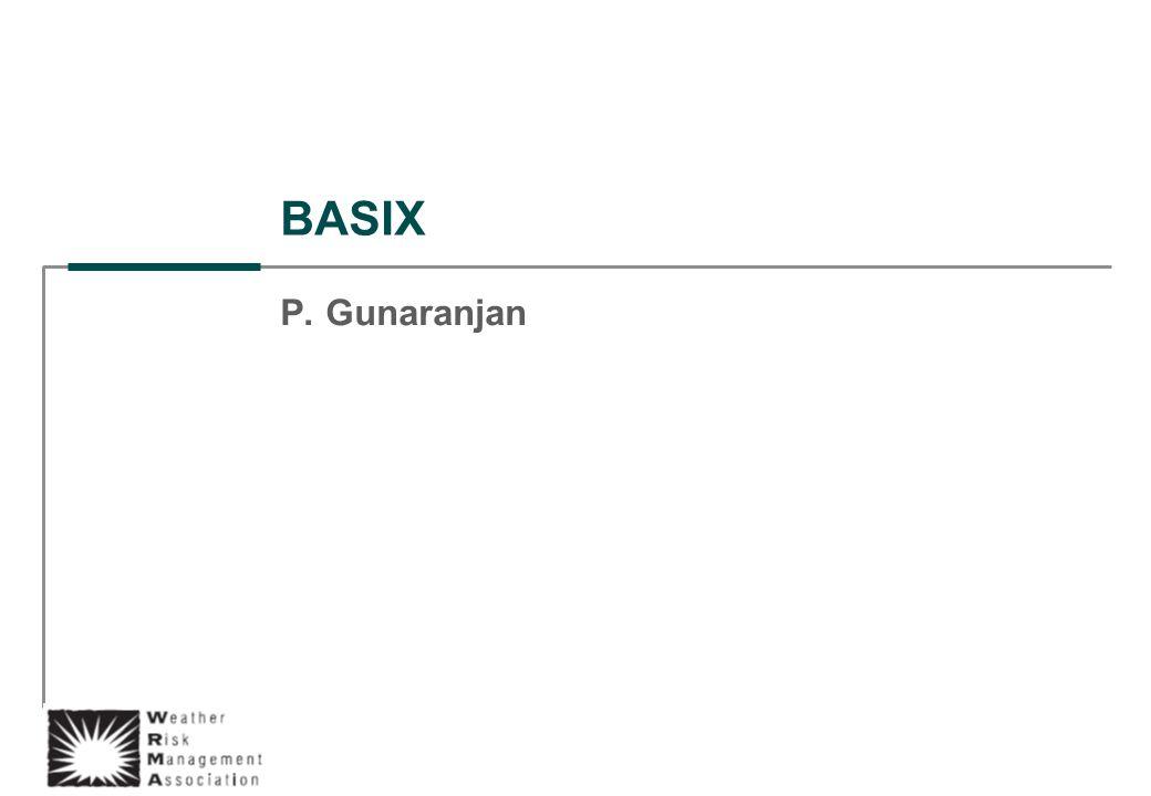BASIX P. Gunaranjan