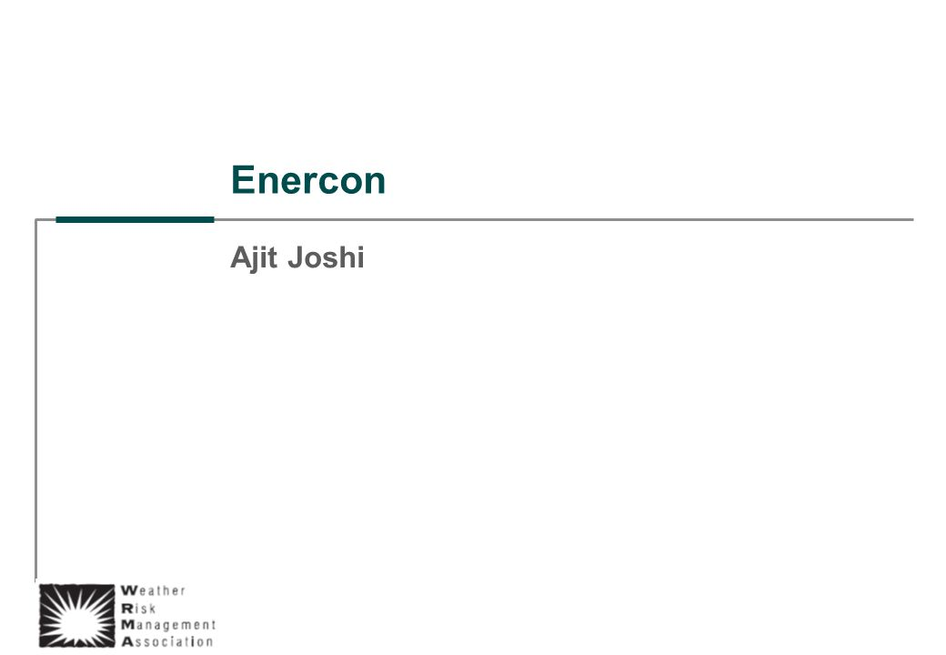 Enercon Ajit Joshi