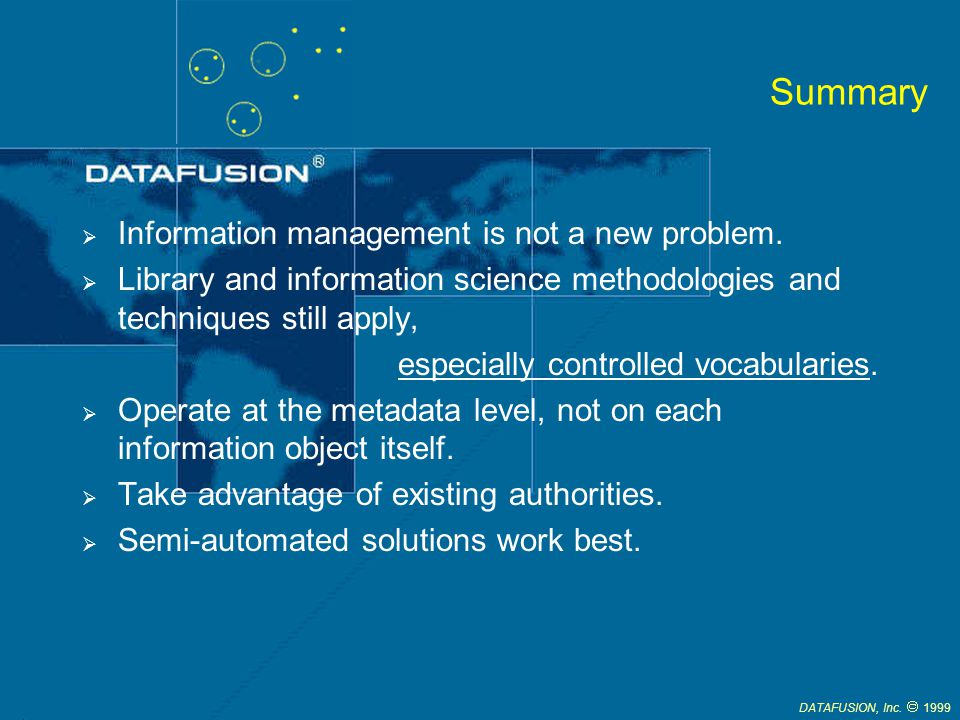 DATAFUSION, Inc.