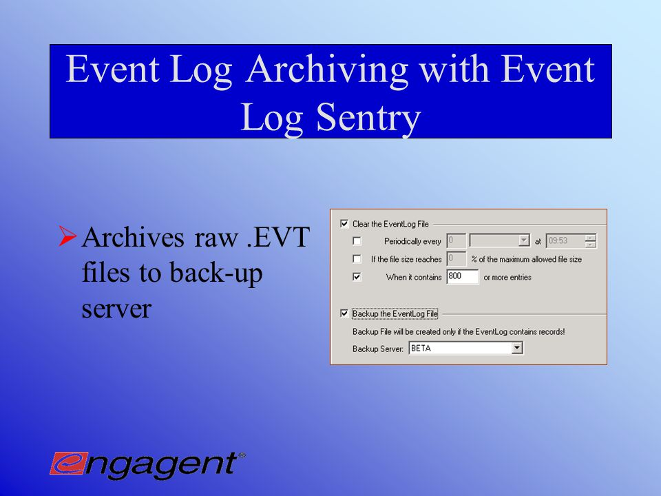 Why Automate Event Log Clearing.