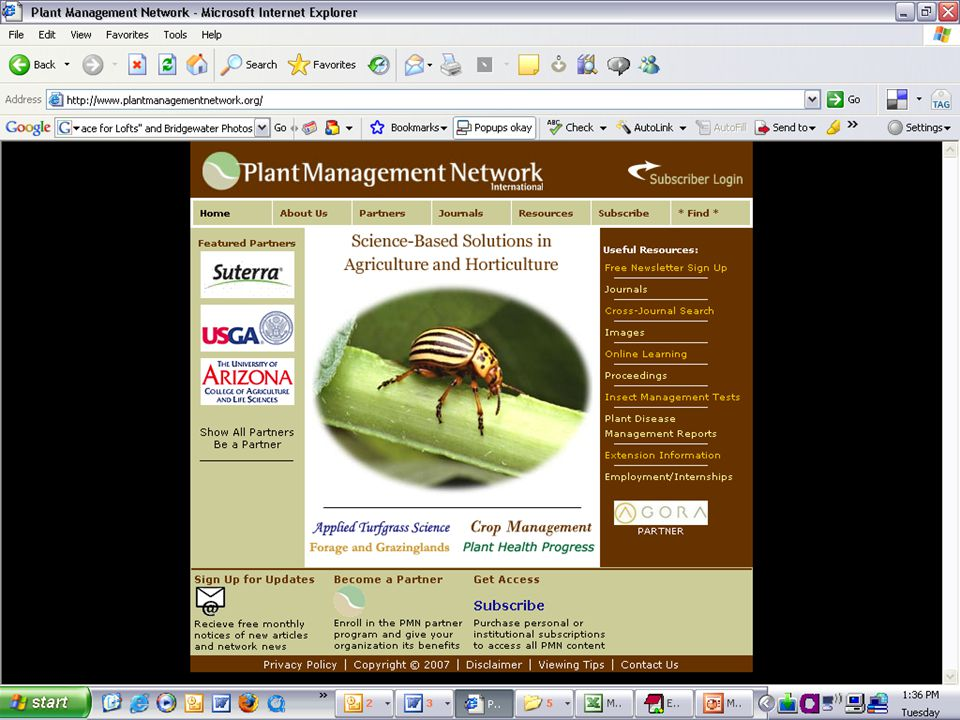 PMN Home Page