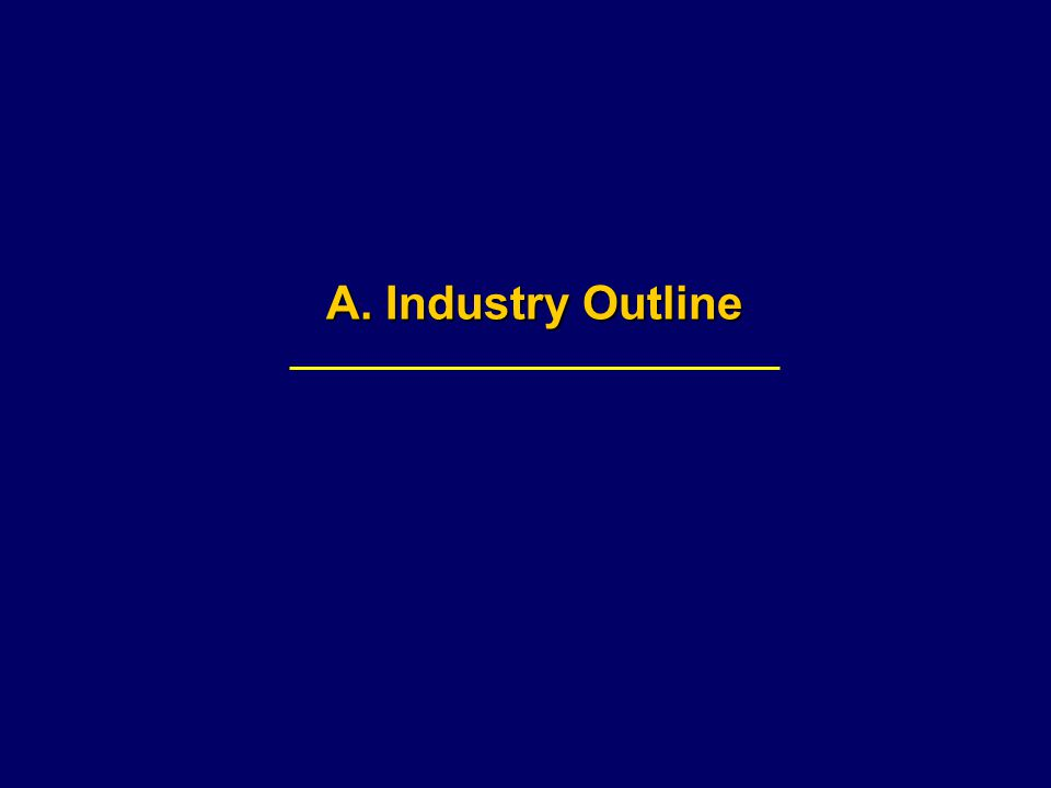 A. Industry Outline