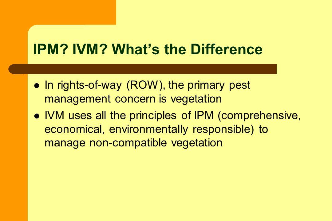 IPM. IVM.