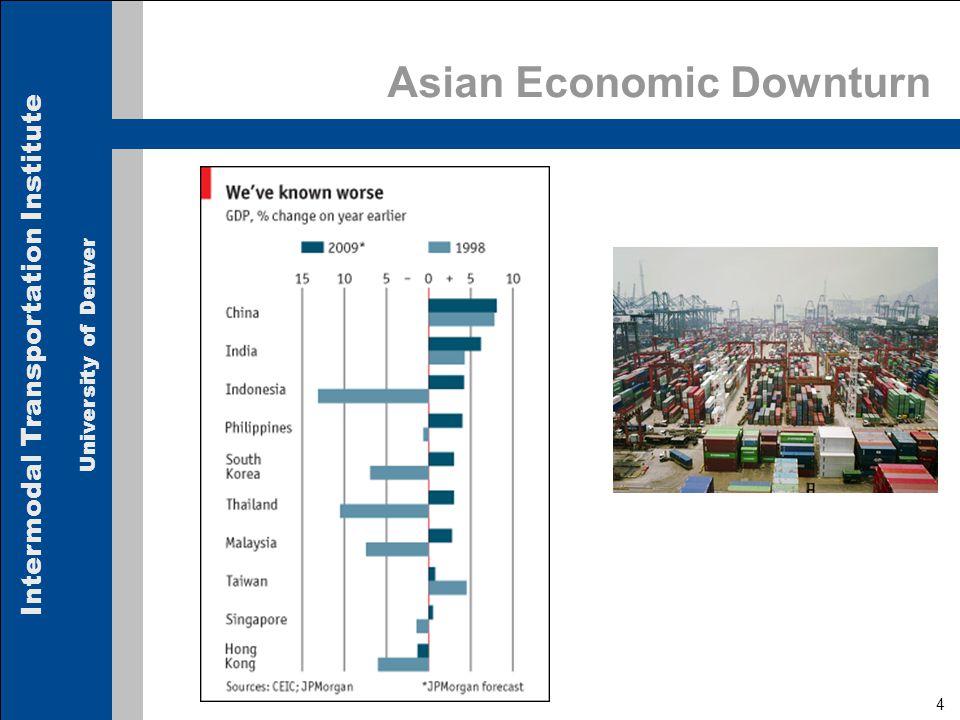 Intermodal Transportation Institute University of Denver Asian Economic Downturn 4