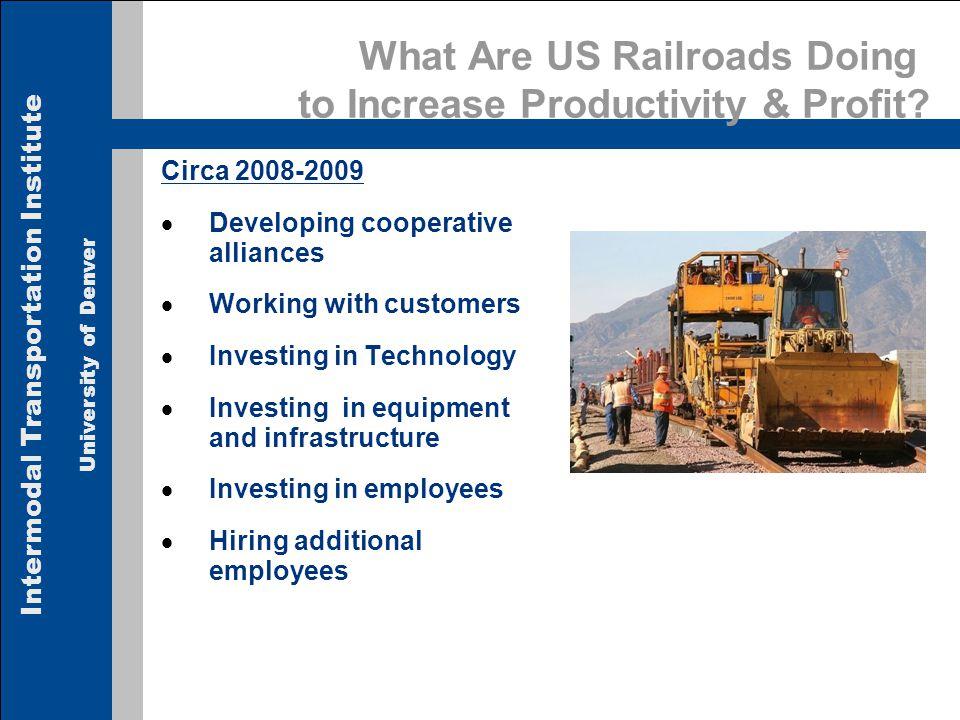 Intermodal Transportation Institute University of Denver 17