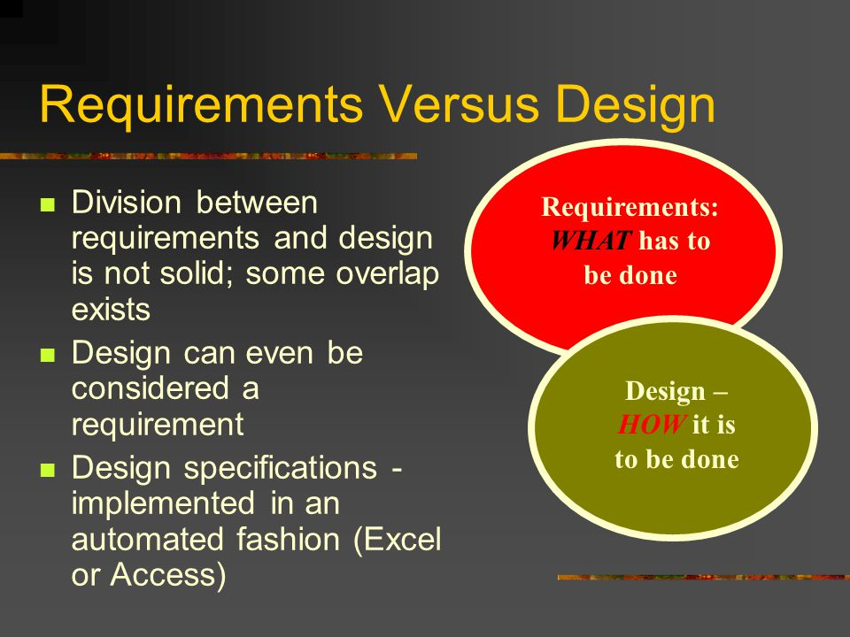 Refinement and Assimilation of Requirements Requirements specify the number of tests that must be performed to ensure that requirement is met State requirements in such a manner as to reduce test set size Several requirements can be condensed into a single equivalent requirement Results in simplified testing and less testing time