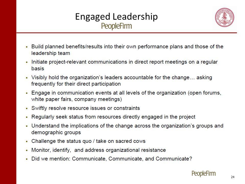 Engaged Leadership 24