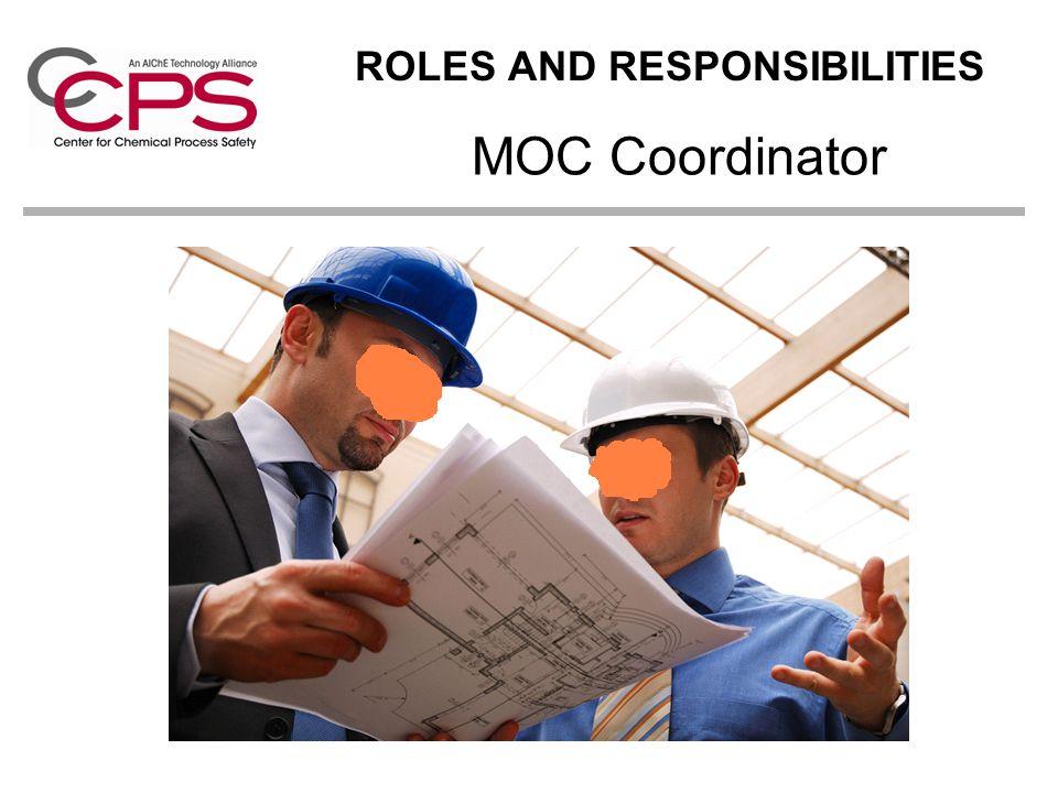 MOC Coordinator ROLES AND RESPONSIBILITIES
