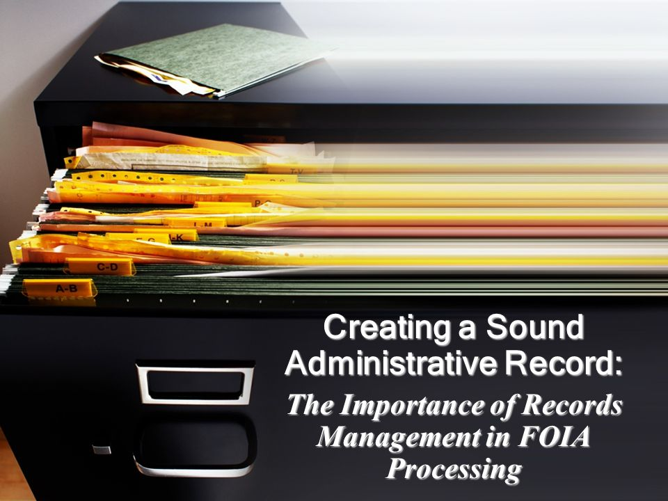 What is Records Management.