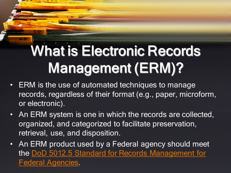 Records Retention There is no single retention period for all records.